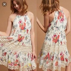 Kalila Floral Swing Dress - Anthropologie